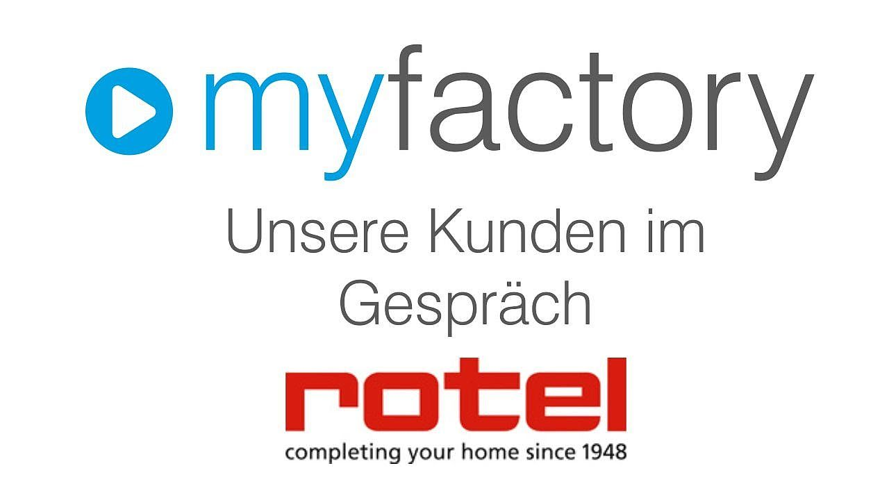 myfactory Kunde - Rotel AG